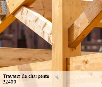 Travaux de charpente  32400